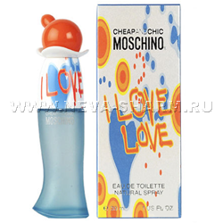 Moschino. Cheap And Chic I Love Love (Москино. Чип Энд Шик Ай Лав Лав)