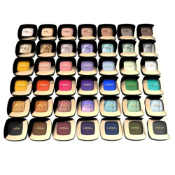 L'Oreal Color Riche L'Ombre Pure Eyeshadows. Тени для век